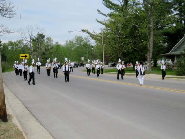 Atlanta High School marching band.